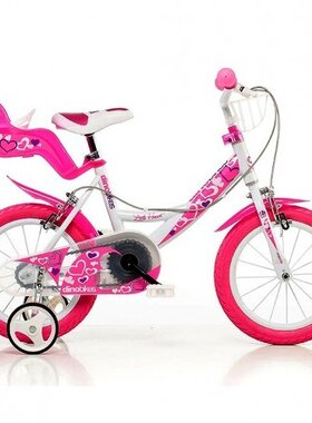 Детски велосипед Dino Bikes Little Heart 12 инча